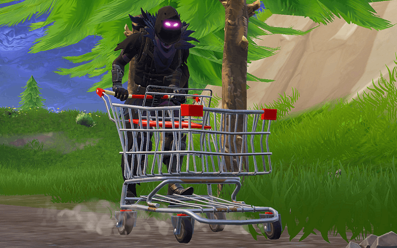 Fortnite Brings Back Shopping Carts For Two Whole Hours.