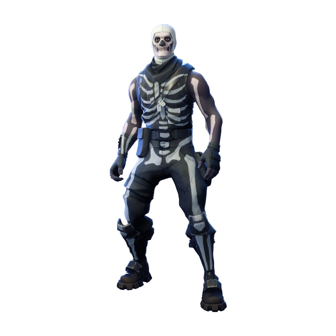 Fortnite Skull Trooper PNG Image.