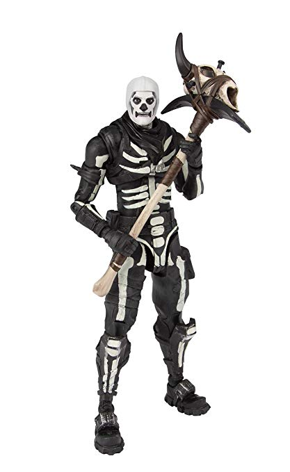 McFarlane Toys Fortnite Skull Trooper Premium Action Figure.