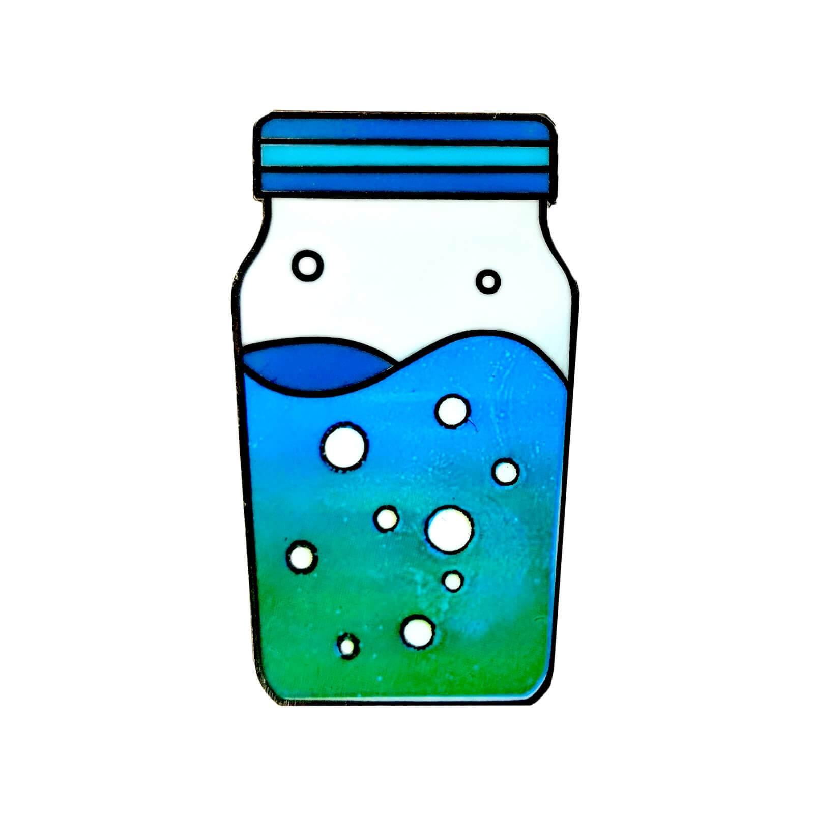 Fortnite Slurp Juice Enamel Pin.