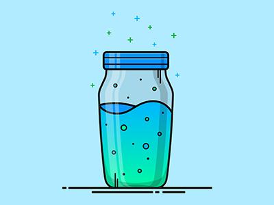 Fortnite Slurp Juice Vector Illustration by Christine Wilde on Dribbble.