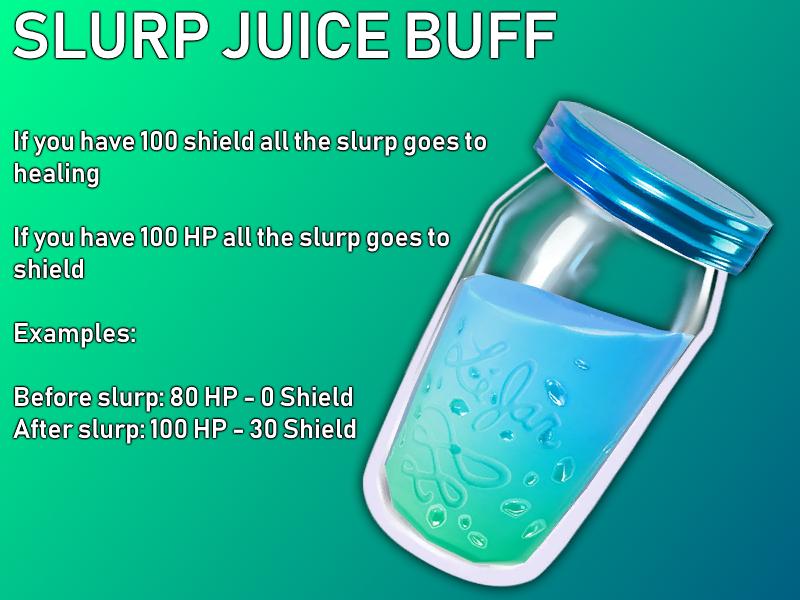 Slurp Juice Buff Suggestion : FortNiteBR.