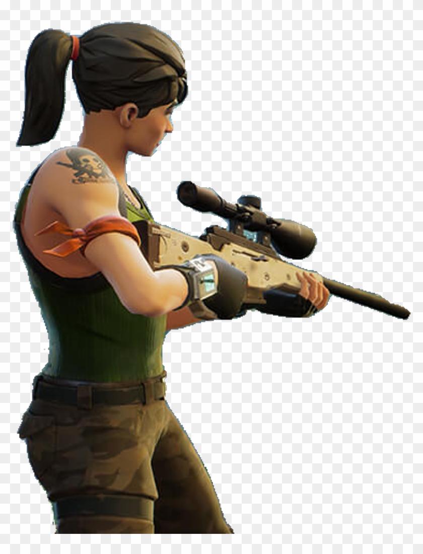Fortnite Sniper Transparent.