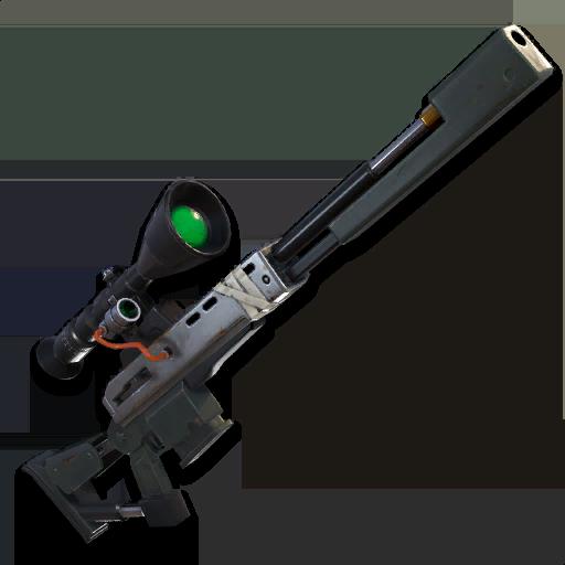 Fortnite SK Sniper PNG Image.