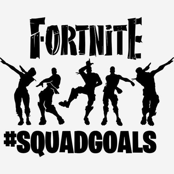 Fortnite squadgoals svg, Fortnite svg, Squadgoals svg, Floss svg.