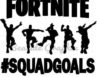 Fortnite Squad Goals Clipart.