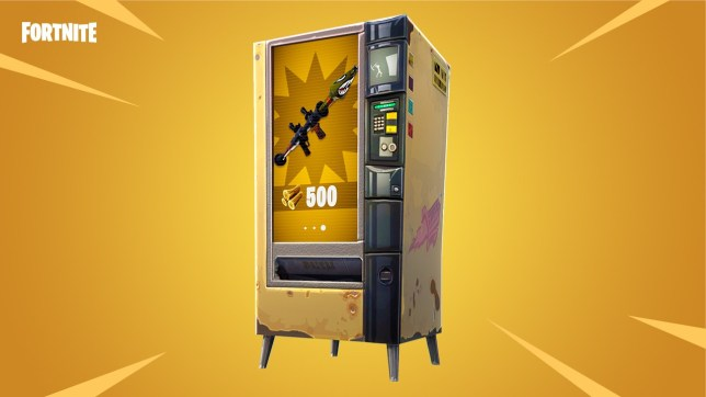 All of the vending machine locations in Fortnite.