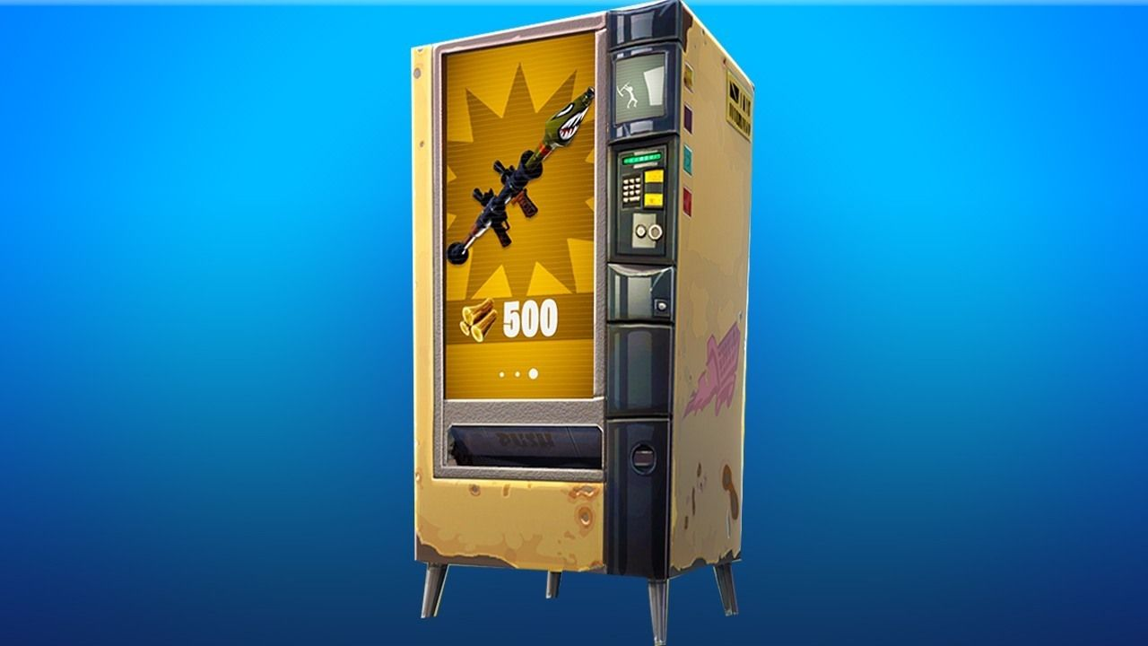 All Fortnite Vending Machines & Where To Find Them.