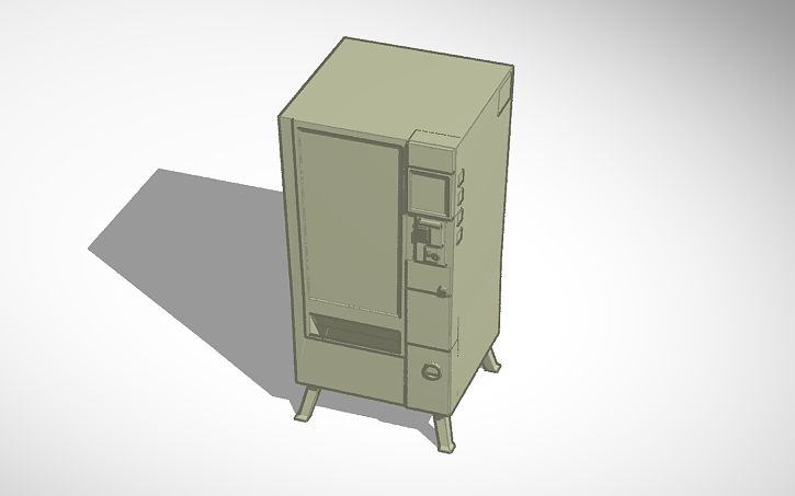 3D design Fortnite Vending Machine.