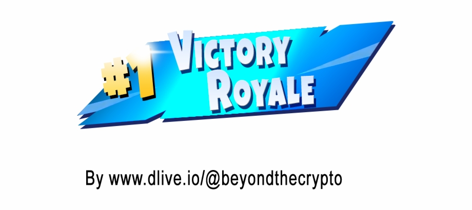 Transparent Victory Royale.