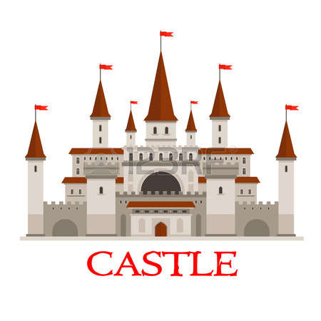 8,021 Medieval Building Stock Vector Illustration And Royalty Free.