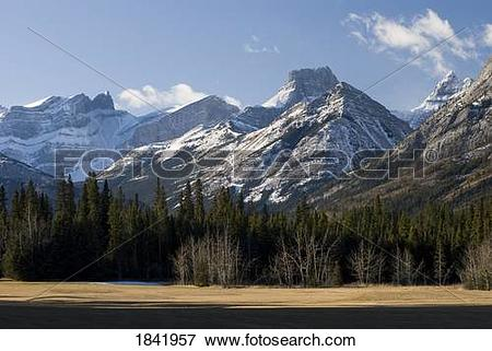 Picture of Fortress mountain, Kananaskis, Alberta, Canada 1841957.