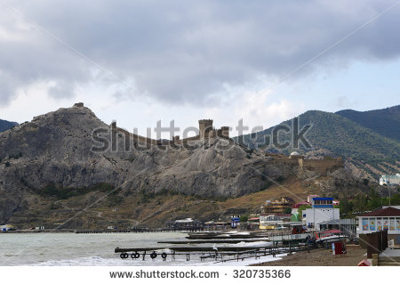 Sudak Sudak Fortress Stock Photos, Images, & Pictures.