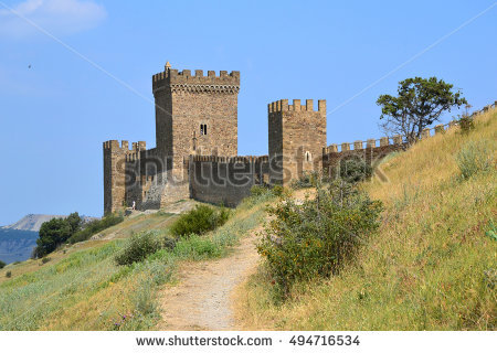 Mountain Fortress Stock Photos, Royalty.