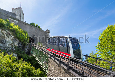 Funicular Stock Photos, Royalty.