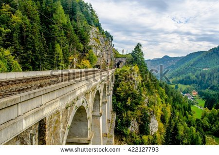 Austria Rail Stock Photos, Royalty.