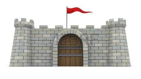 9,781 The Fortress Stock Vector Illustration And Royalty Free The.
