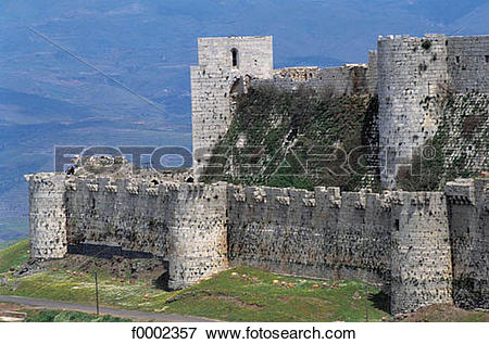Picture of fortress, citadel, rampart, fortification, castle.
