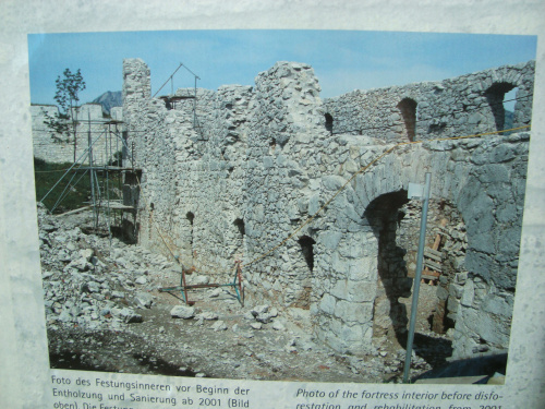 Reutte in Tirol: the Ehrenberg ruins.