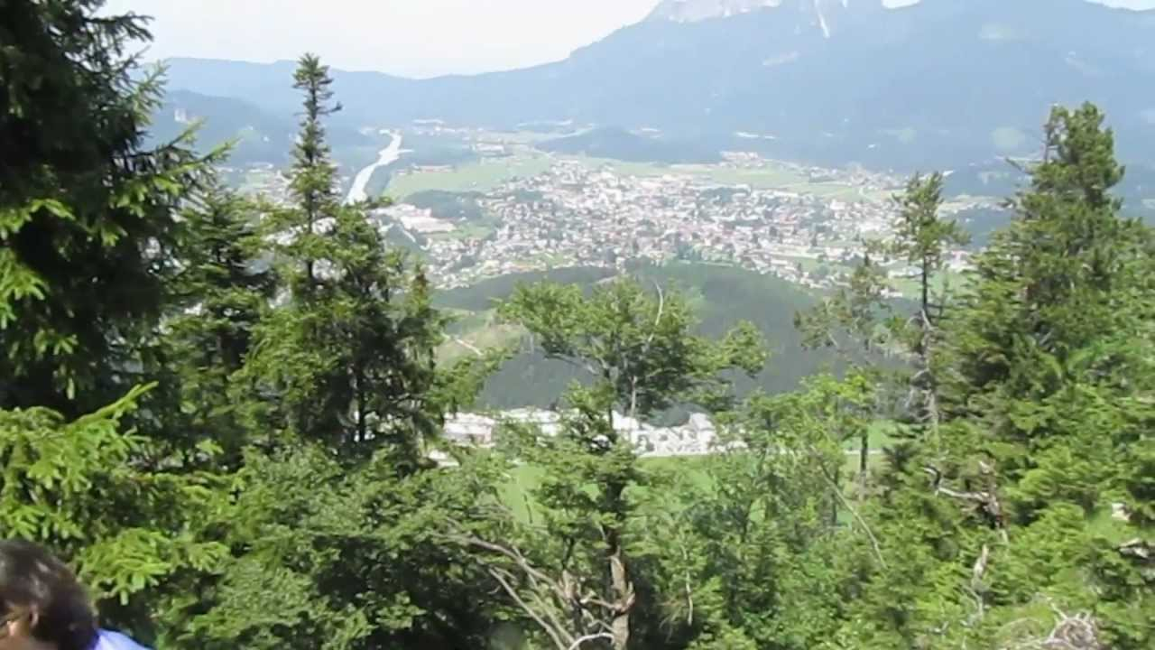 Fortress Schlosskopf Austria Tour with Soaring Gliders over the.
