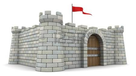 2,552 A Fortress Wall Cliparts, Stock Vector And Royalty Free A.