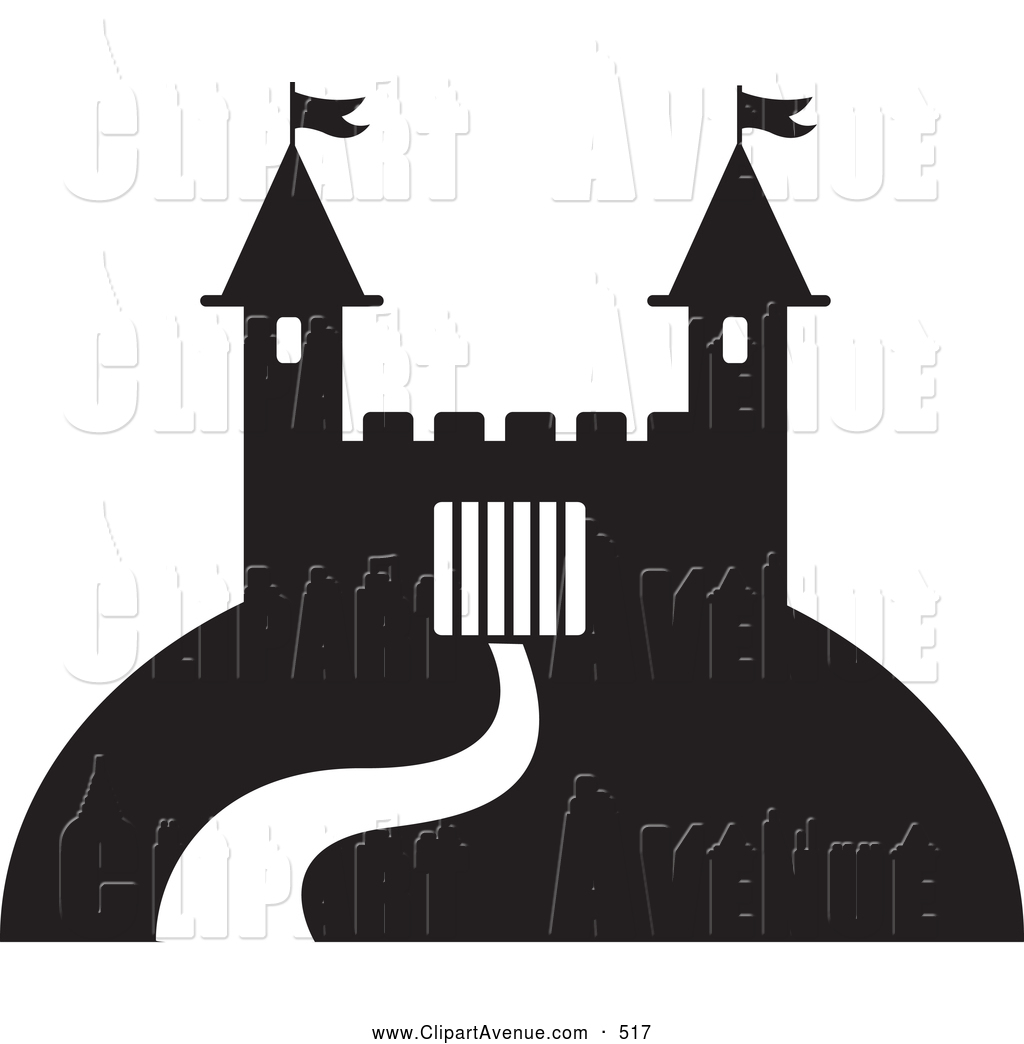 Royalty Free Stock Avenue Designs of Fortresses.