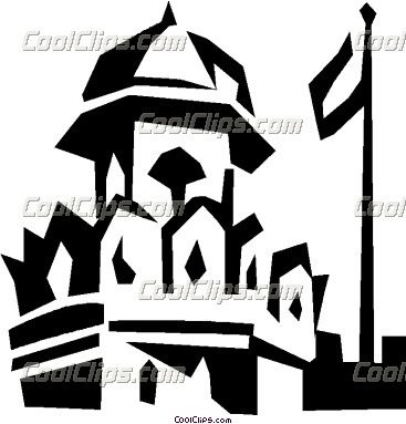 Red Fort Clipart.