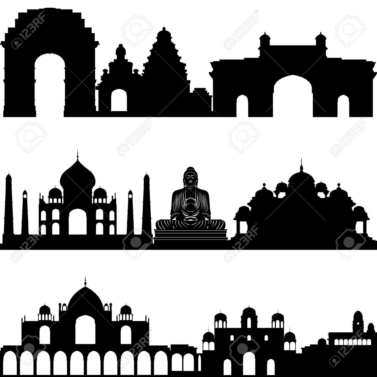 Shivaji fort clipart.
