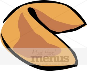 Fortune Cookie Clipart.