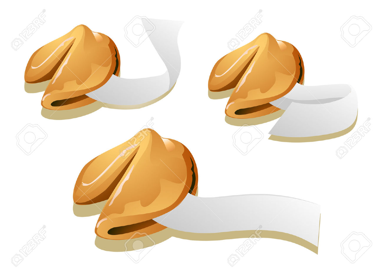 Fortune Cookies Royalty Free Cliparts, Vectors, And Stock.