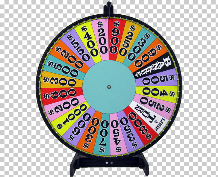 Wheel Game show Prize, fortune PNG clipart.