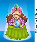 Fortune teller Illustrations and Clip Art. 3,711 Fortune teller.