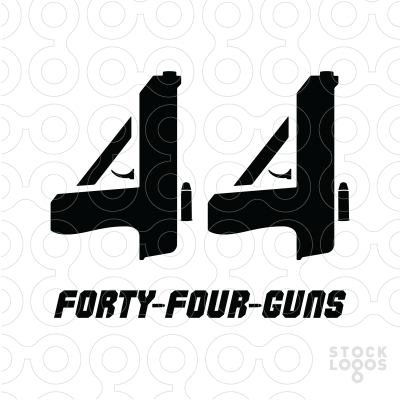 Exclusive Customizable Logo For Sale: Forty.