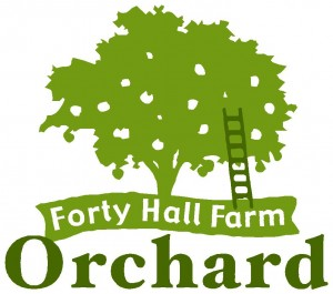 Forty Hall Farm Orchard.