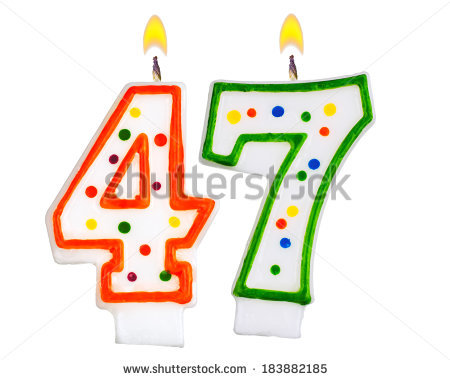Forty Seven In Clipart.