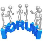 Forum Clip Art.