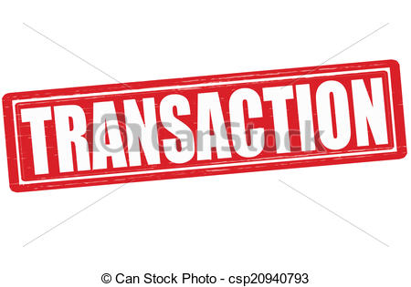 Transactions Clipart.