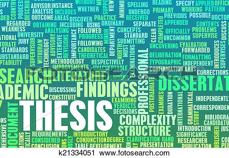 Clipart of Thesis k21334051.