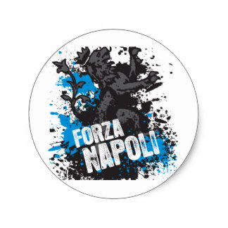 Napoli Stickers.