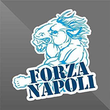 Sticker Forza Napoli.