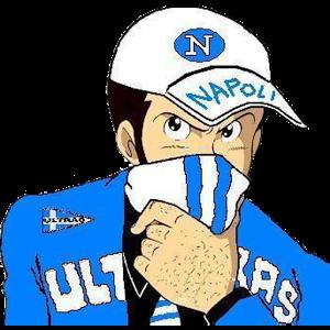 Ultras Napoli.