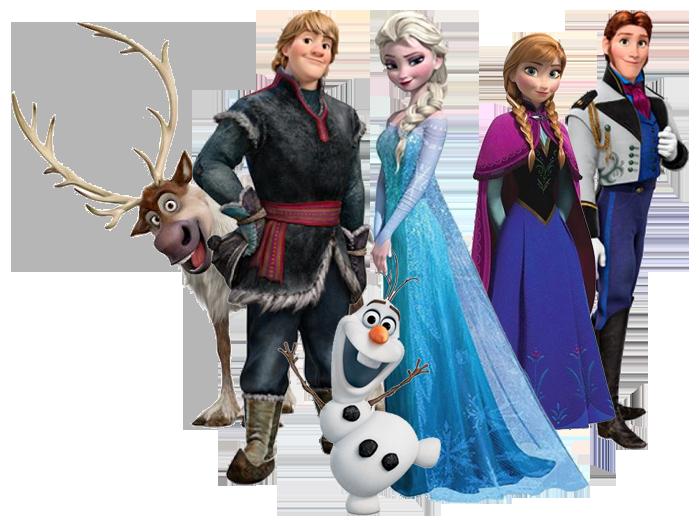 Frozen Movie Clipart.