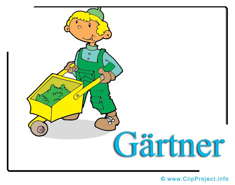 Gärtner Clipart free.