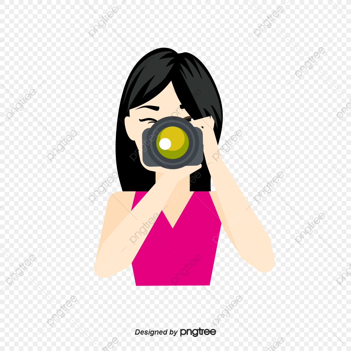 Vector Cartoon Photographer, Cartoon Vector, Vector, Cartoon PNG and.