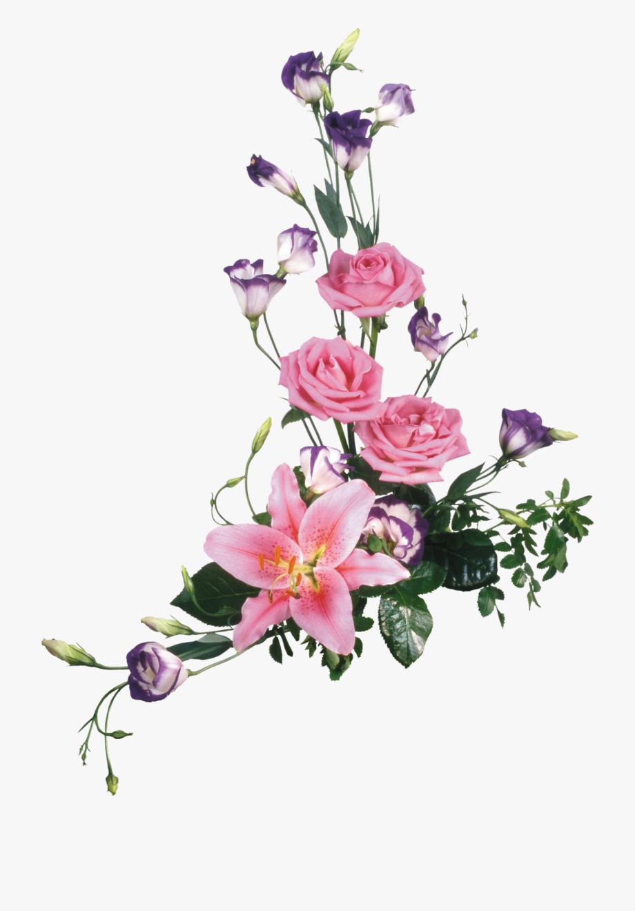 Flores Png Clipart Para Photoshop.