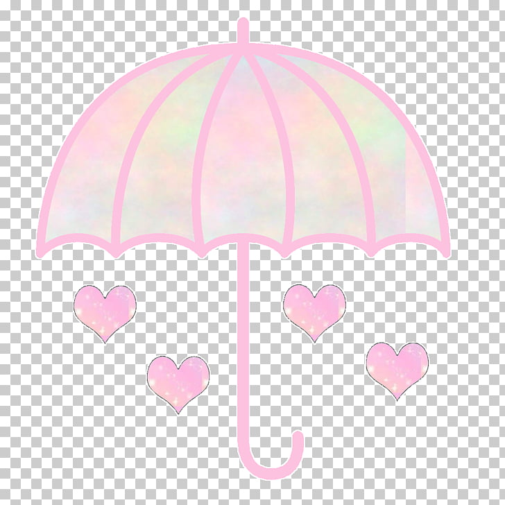 Pink M Heart, chuva de amor, white and pink umbrella and.