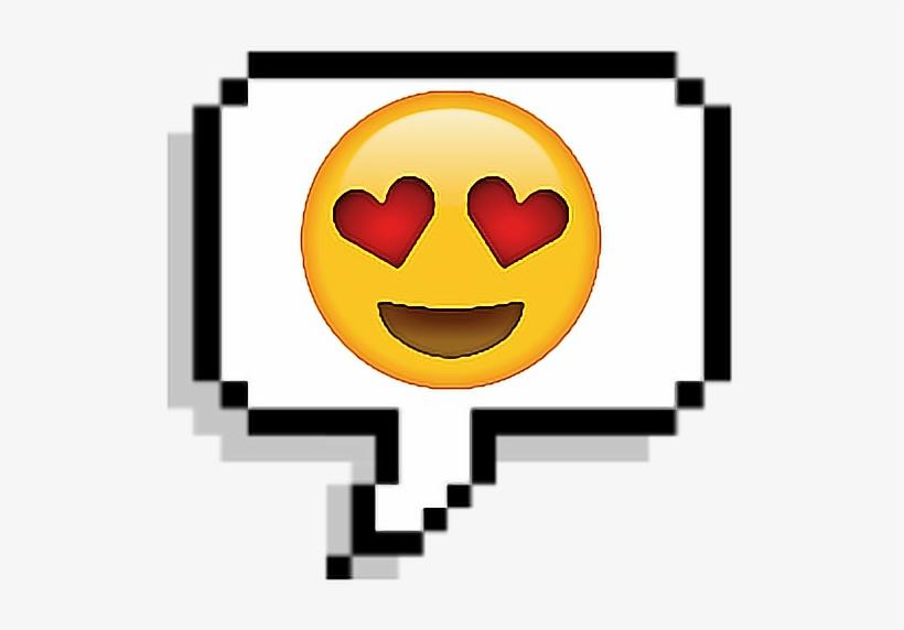 Tumblr Corazon Emoji Sticker Enamorado Pixel.