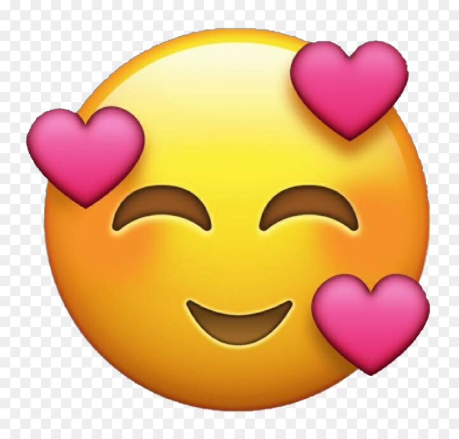 Background Heart Emoji png download.