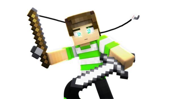 Render PNG de Minecraft.