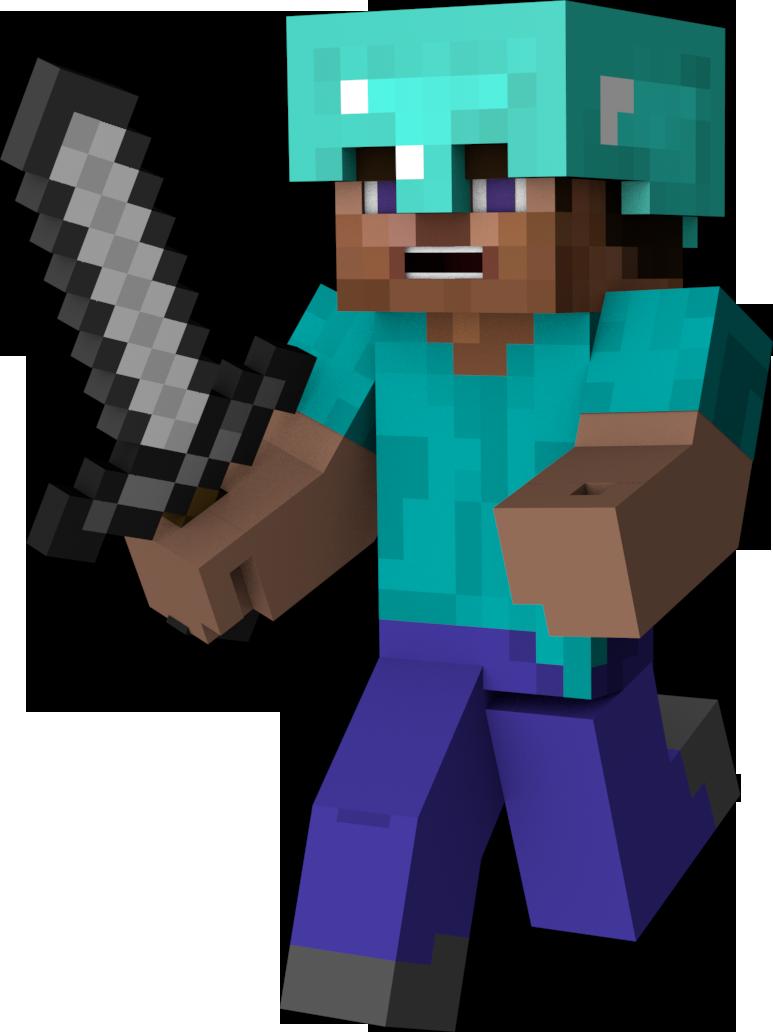 HD Personajes De Minecraft En Png Transparent PNG Image Download.